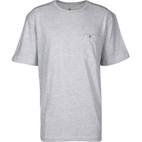 Carhartt Maddock Pocket T-Shirt Men heather grey